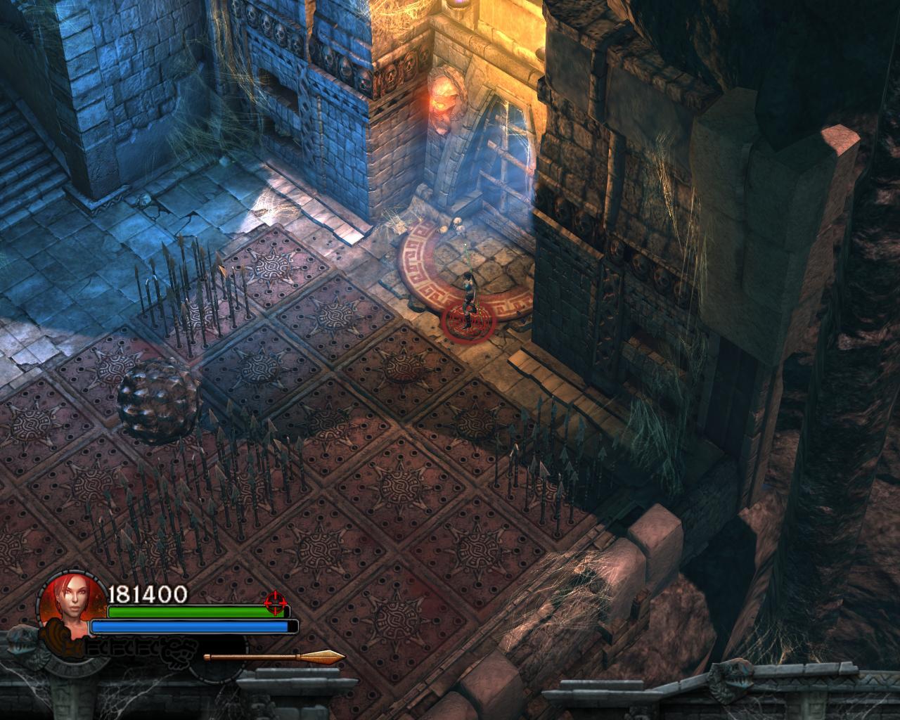 Как открыть эту гробницу? - Lara Croft and the Guardian of Light lcgol