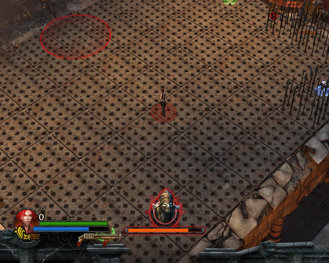 Xolotl Battle 2 - Lara Croft and the Guardian of Light lcgol