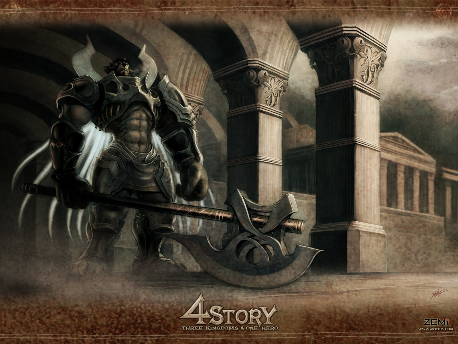 wp1_1600x1200.jpg - 4Story: Three Kingdoms & One Hero