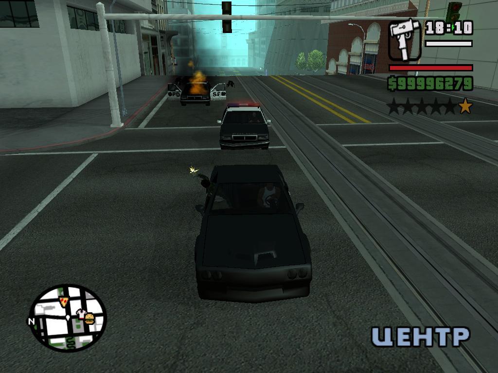 "Прям как в миссии ""Конец пути"" - Grand Theft Auto: San Andreas"