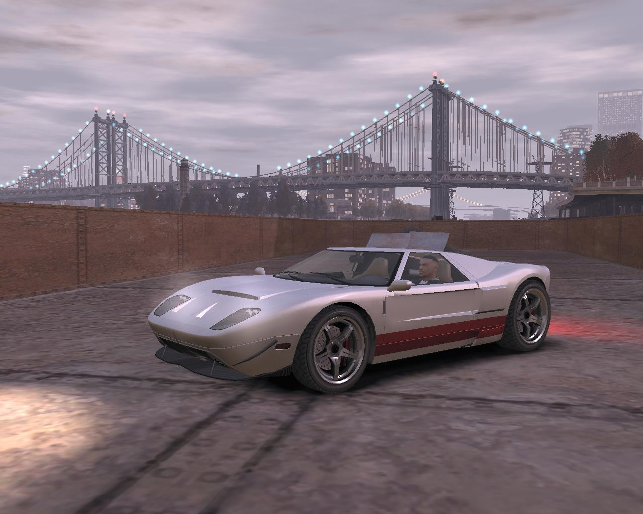 Уникальный Bullet GT - Grand Theft Auto 4