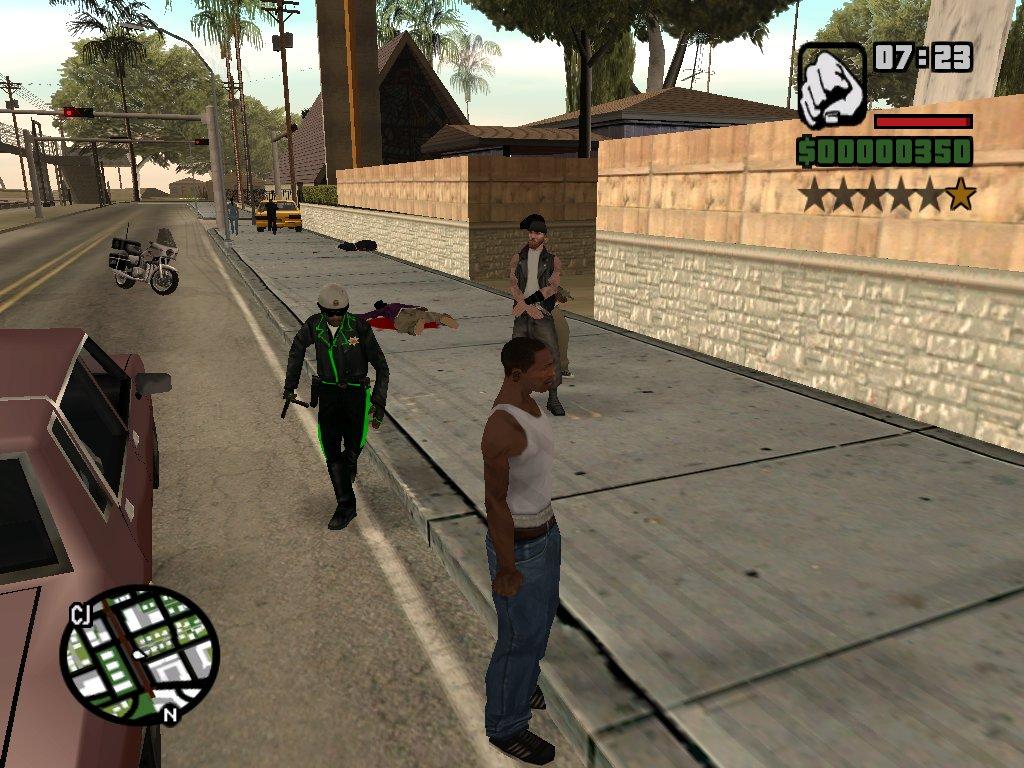GTA - Grand Theft Auto: San Andreas