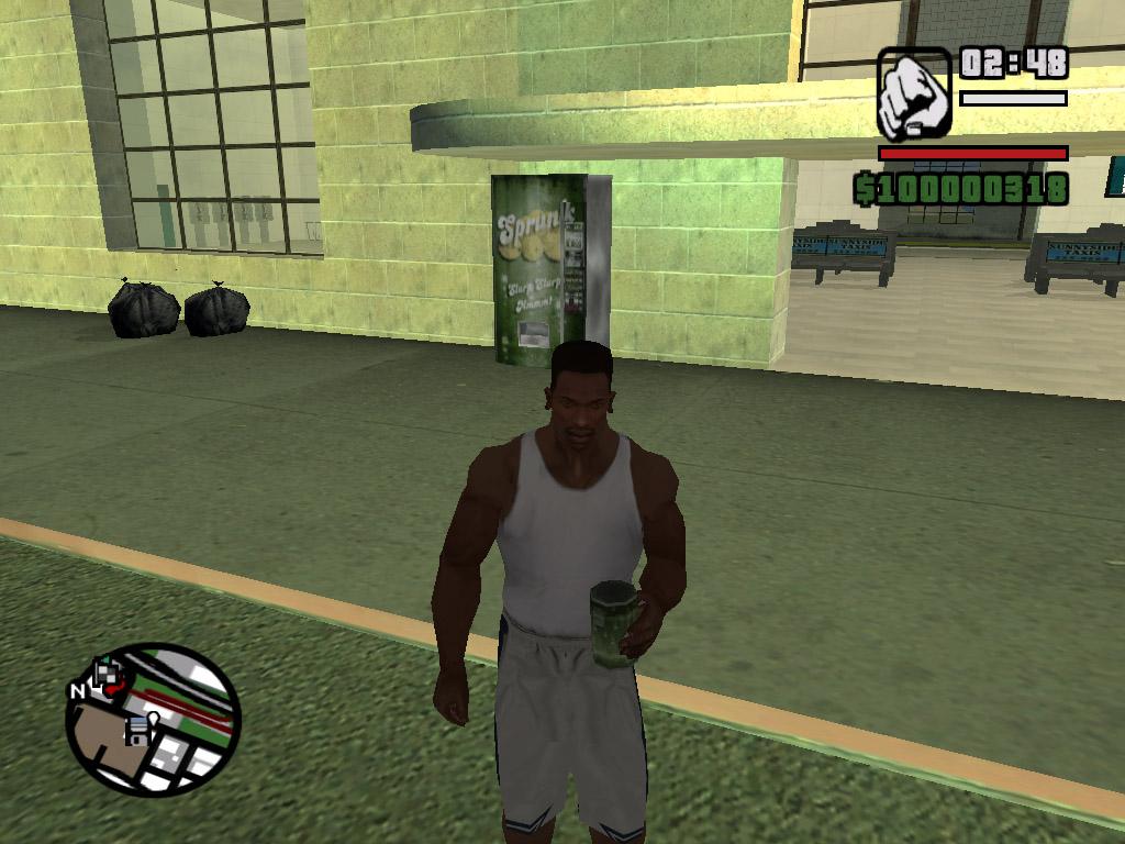 Не решил сразу пить, куда то понес - Grand Theft Auto: San Andreas