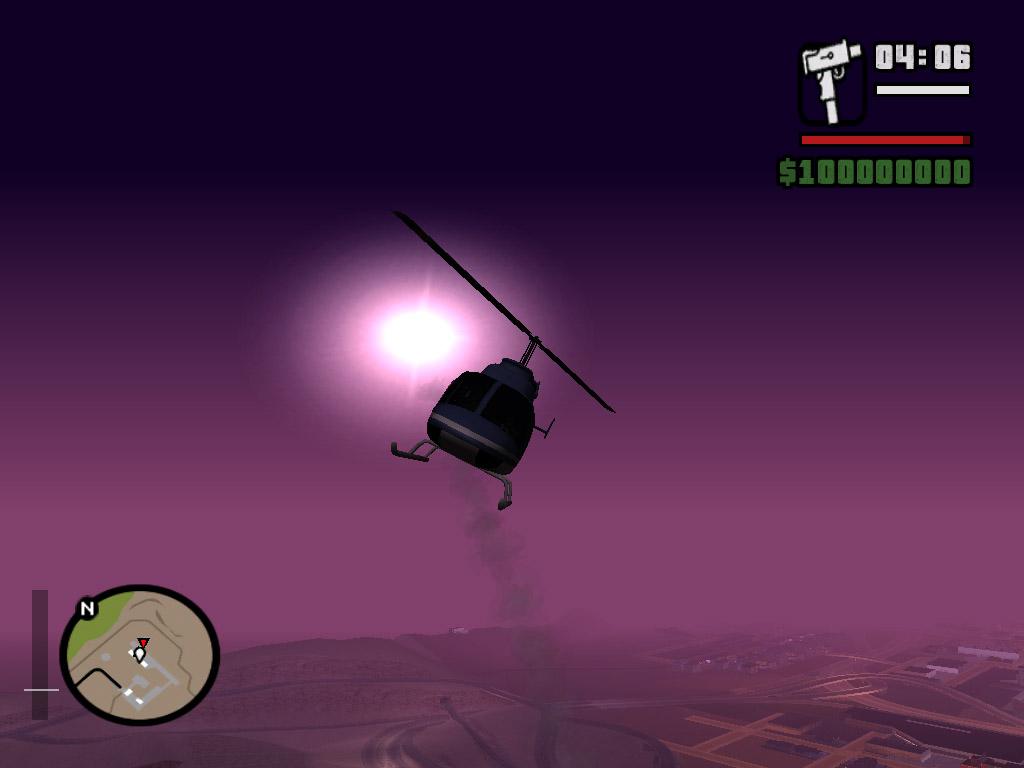 Caлют - Grand Theft Auto: San Andreas