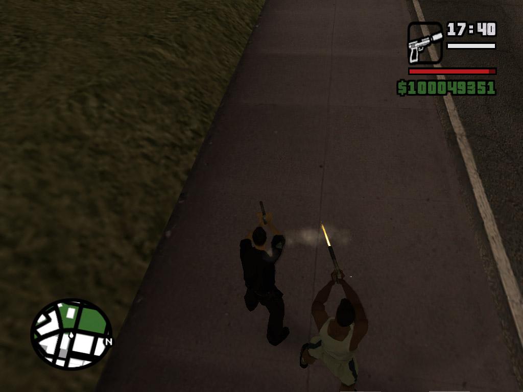 Стреляем - Grand Theft Auto: San Andreas