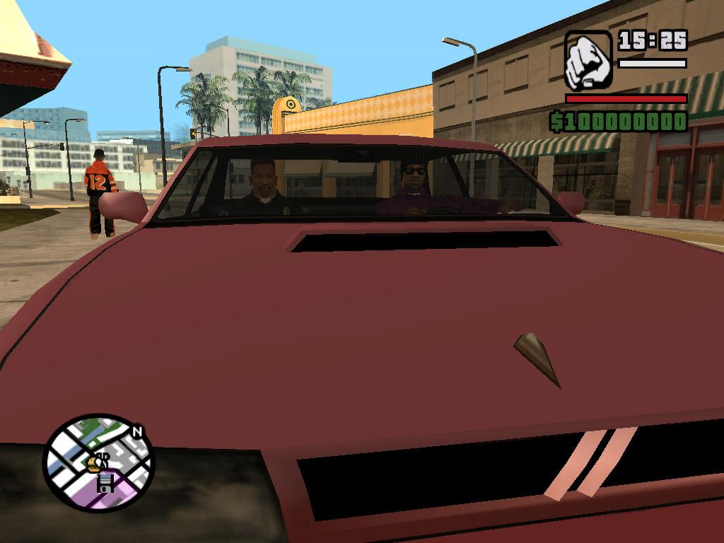 Джонсон с Балласом подружились - Grand Theft Auto: San Andreas