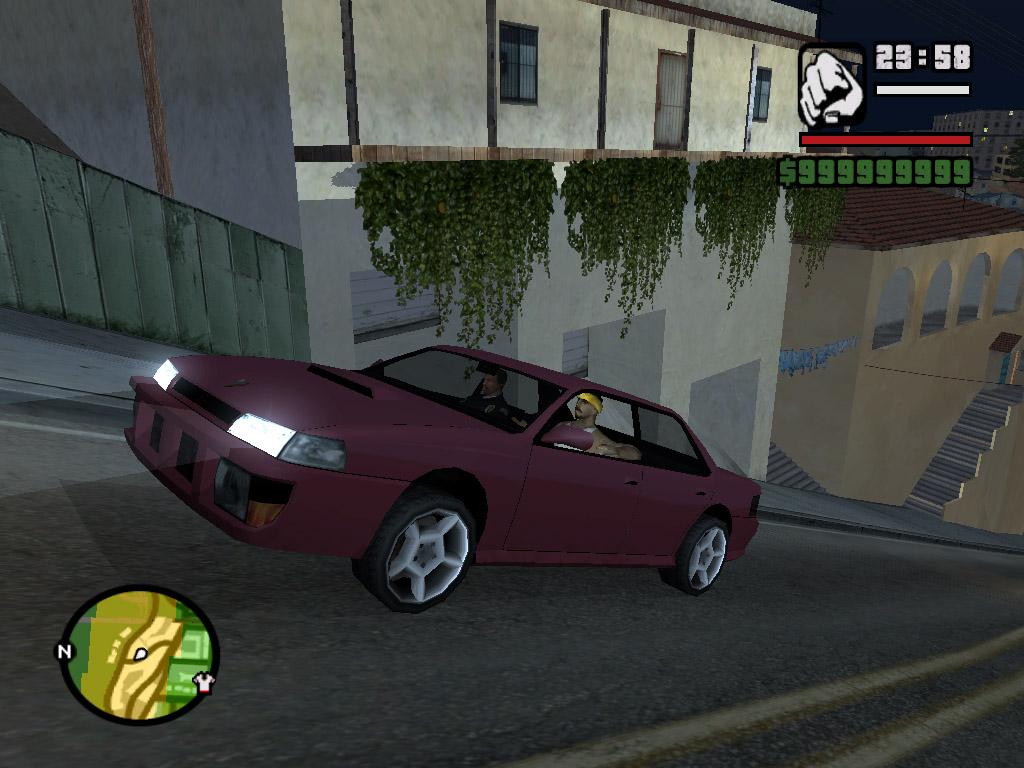 Потом кубинец сел - Grand Theft Auto: San Andreas