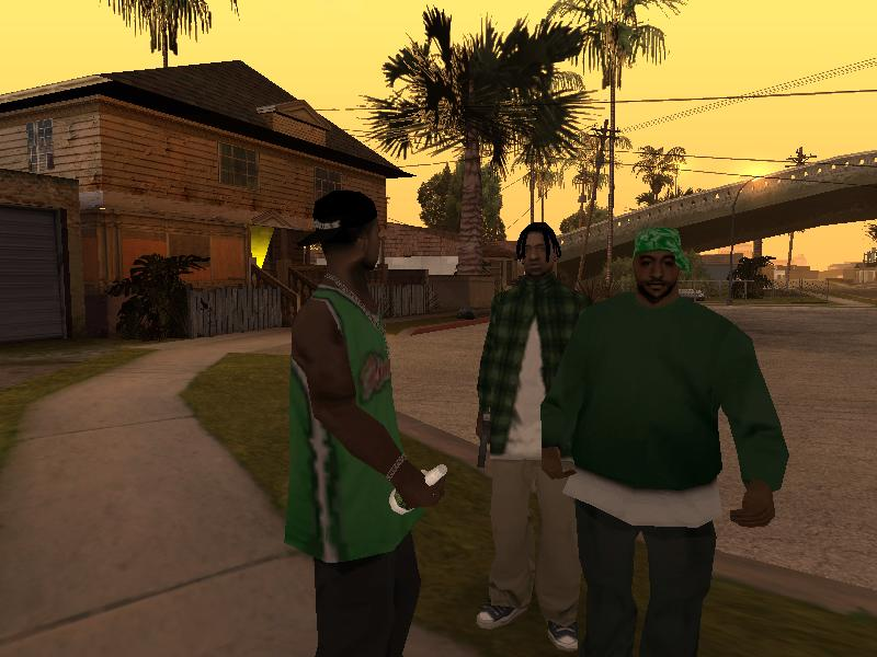 Groov Street - Grand Theft Auto: San Andreas