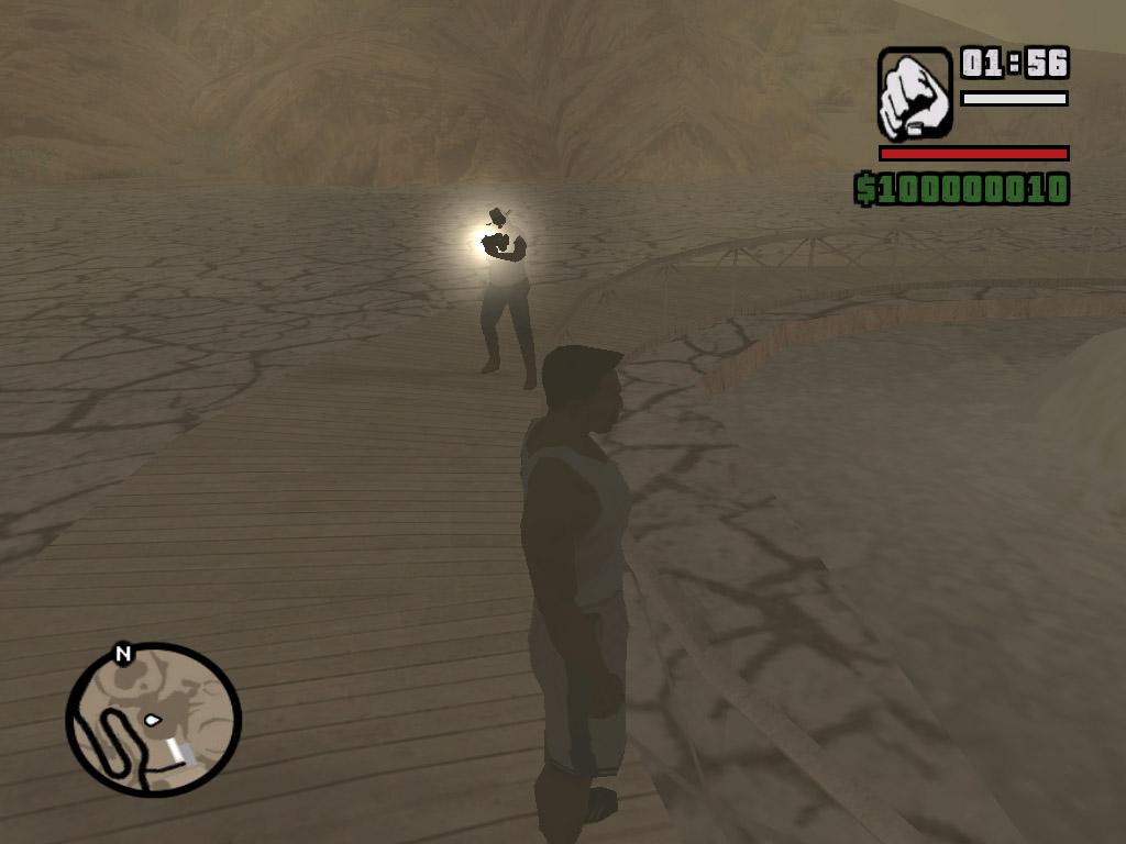 Фотографирует - Grand Theft Auto: San Andreas