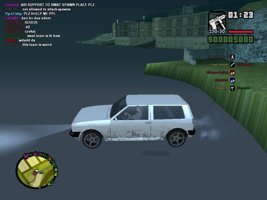 Самп - Grand Theft Auto: San Andreas