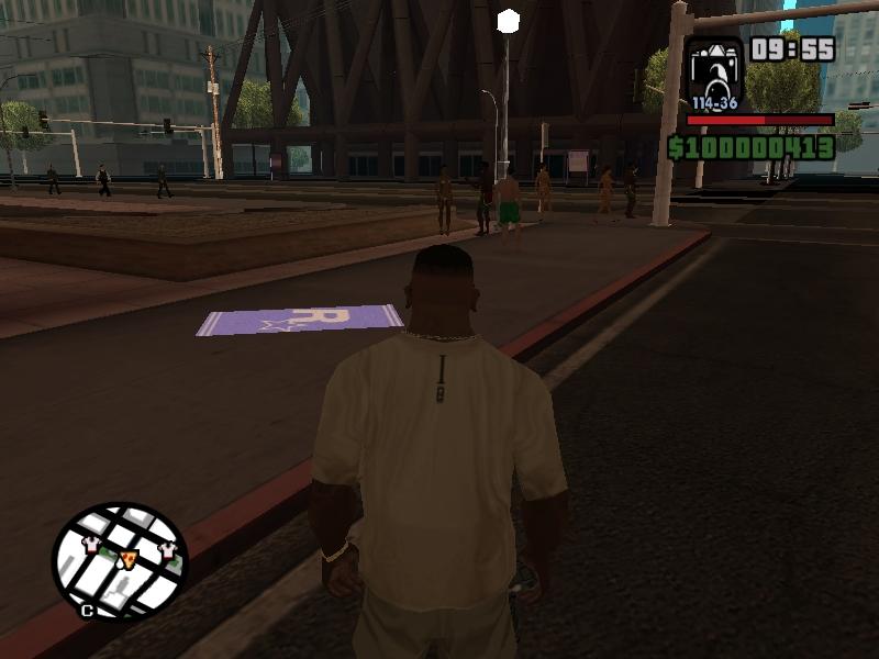 Глюк 1 - Grand Theft Auto: San Andreas