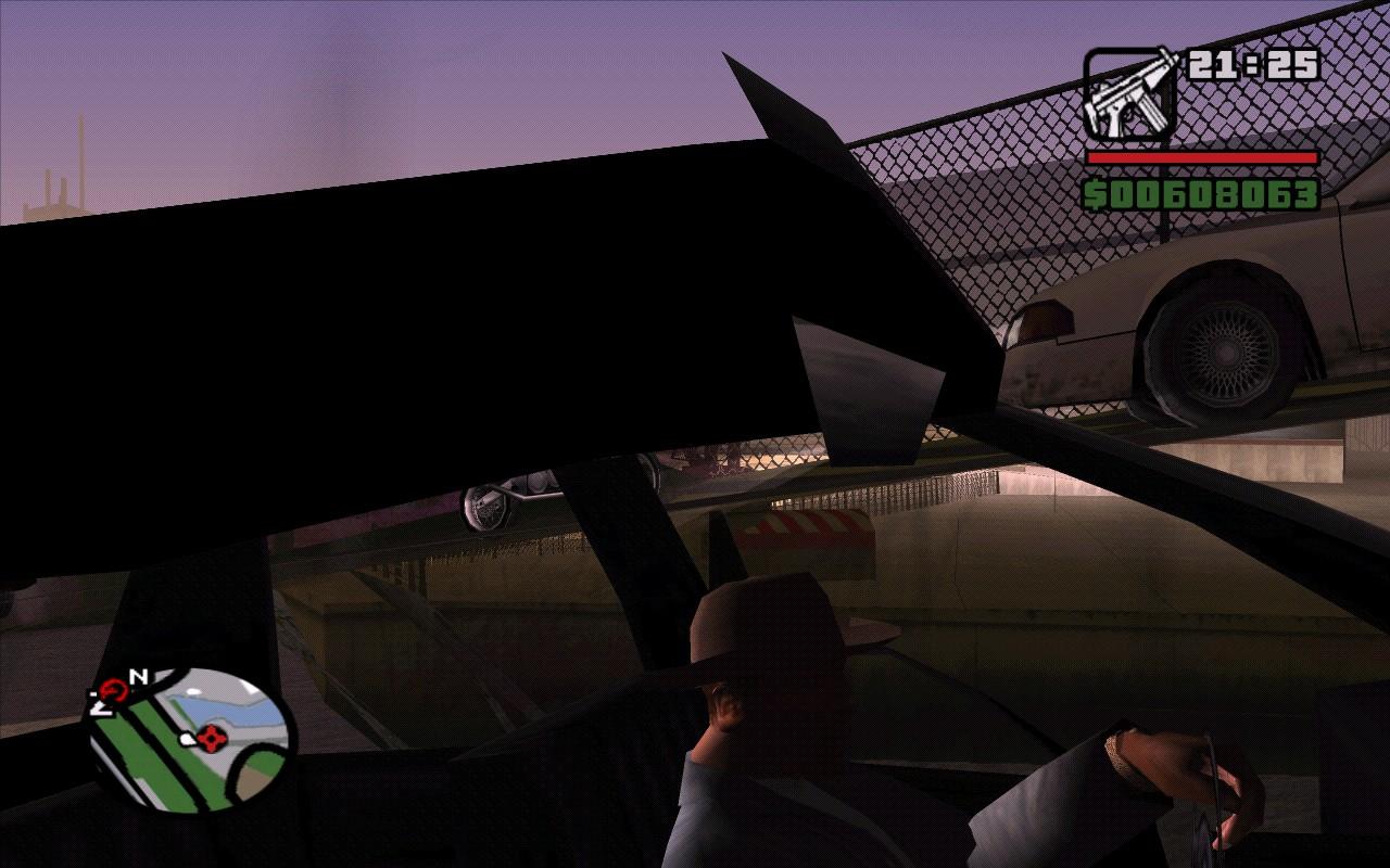 Застрял - Grand Theft Auto: San Andreas
