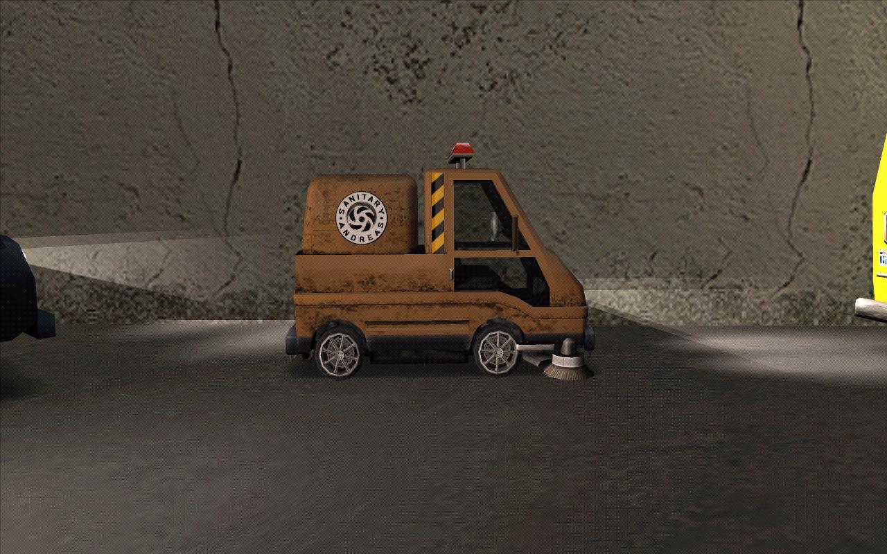 Оранжевый мовер. - Grand Theft Auto: San Andreas