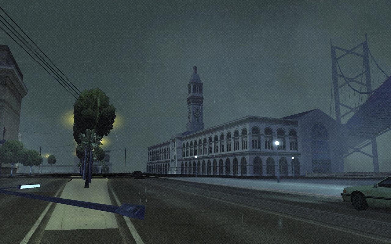 Шторм в Сан Ферро - Grand Theft Auto: San Andreas