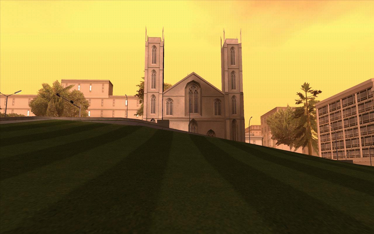 Собор Сан Ферро. - Grand Theft Auto: San Andreas