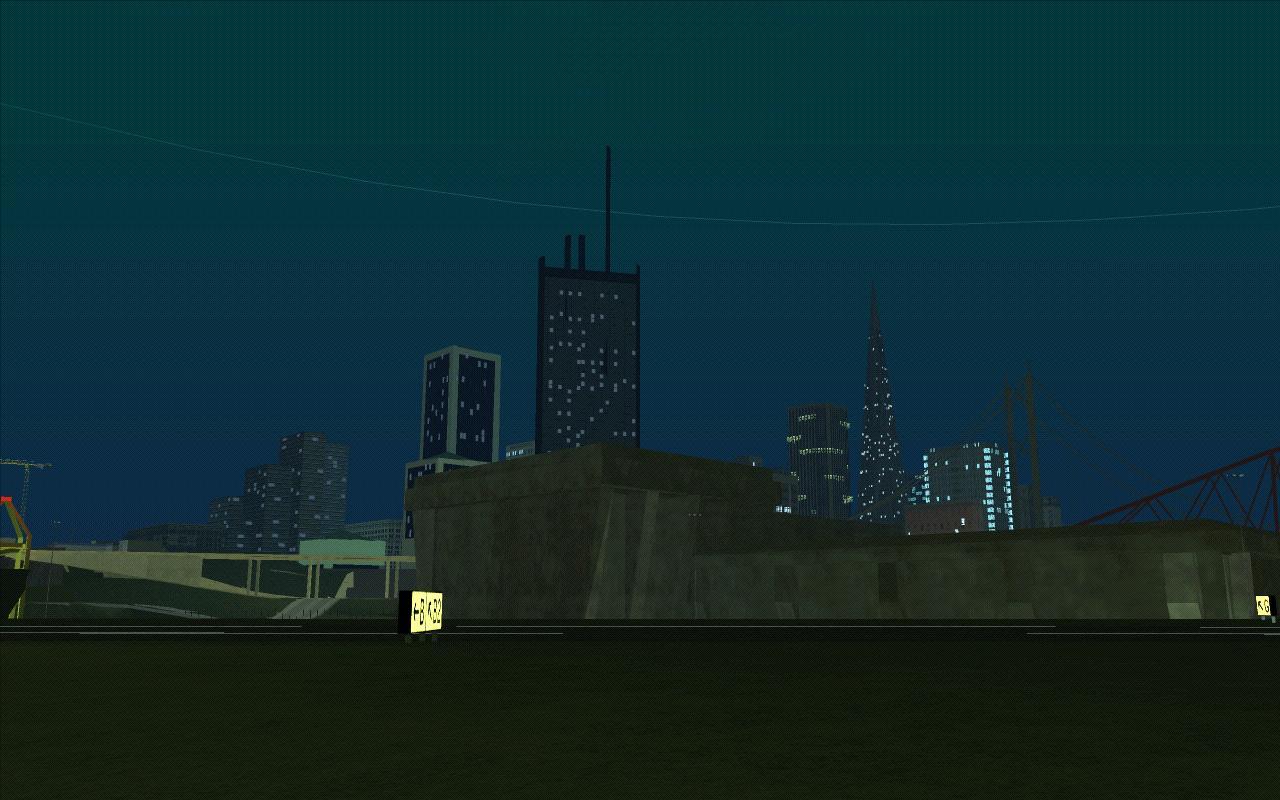 Ночь над Сан Ферро - Grand Theft Auto: San Andreas