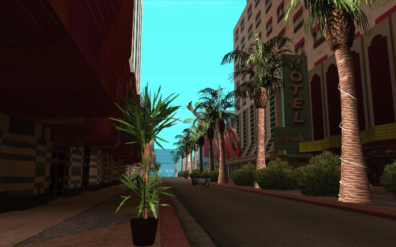 Бульвар Вентураса днем. - Grand Theft Auto: San Andreas