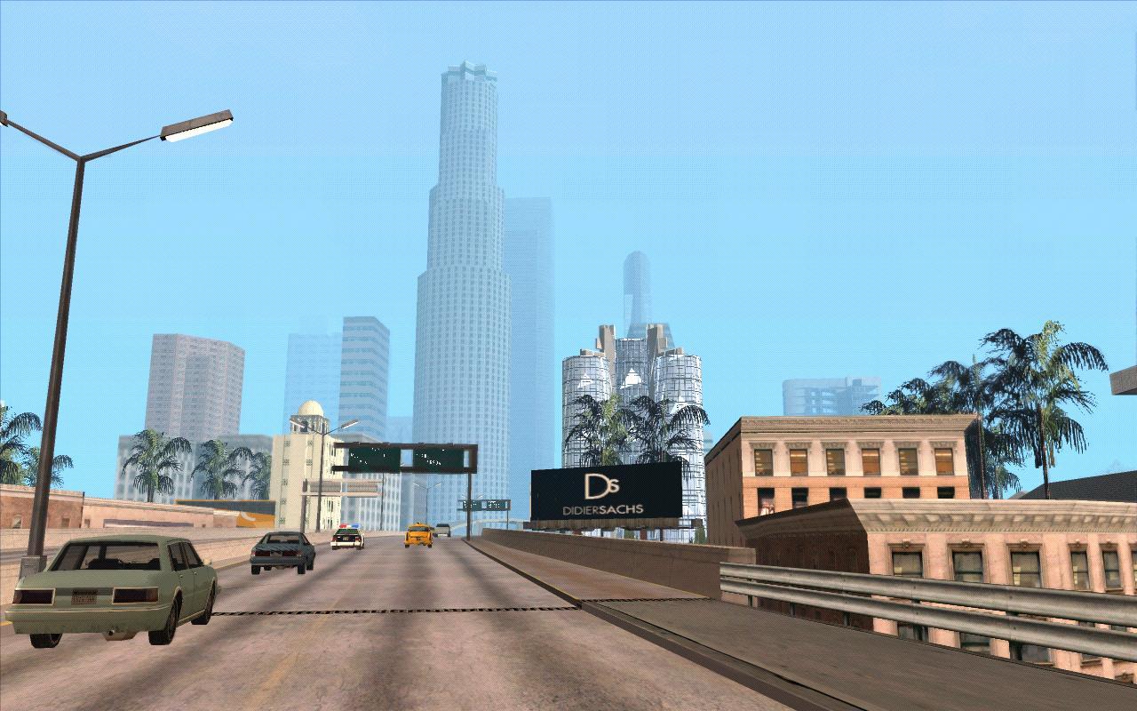 Шоссе в Сантосе - Grand Theft Auto: San Andreas