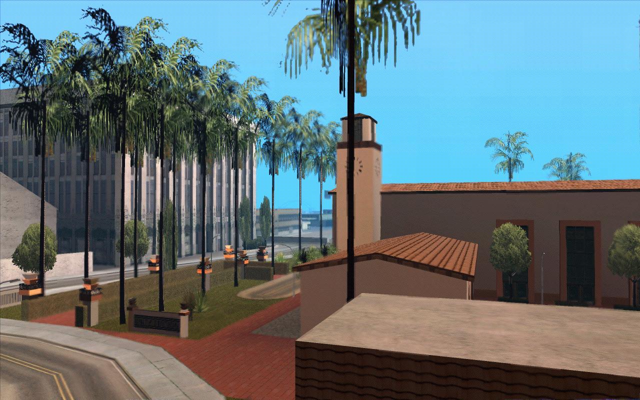 Привокзальная площадь Юнити - Grand Theft Auto: San Andreas