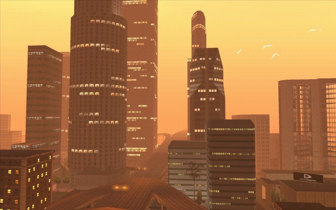 Небоскребы Сантоса - Grand Theft Auto: San Andreas