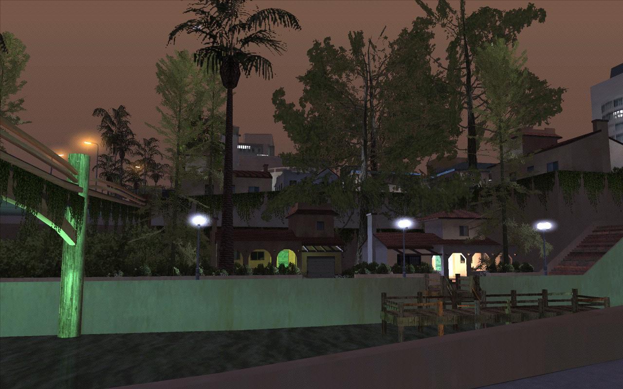 Живописные домики Сантоса. - Grand Theft Auto: San Andreas