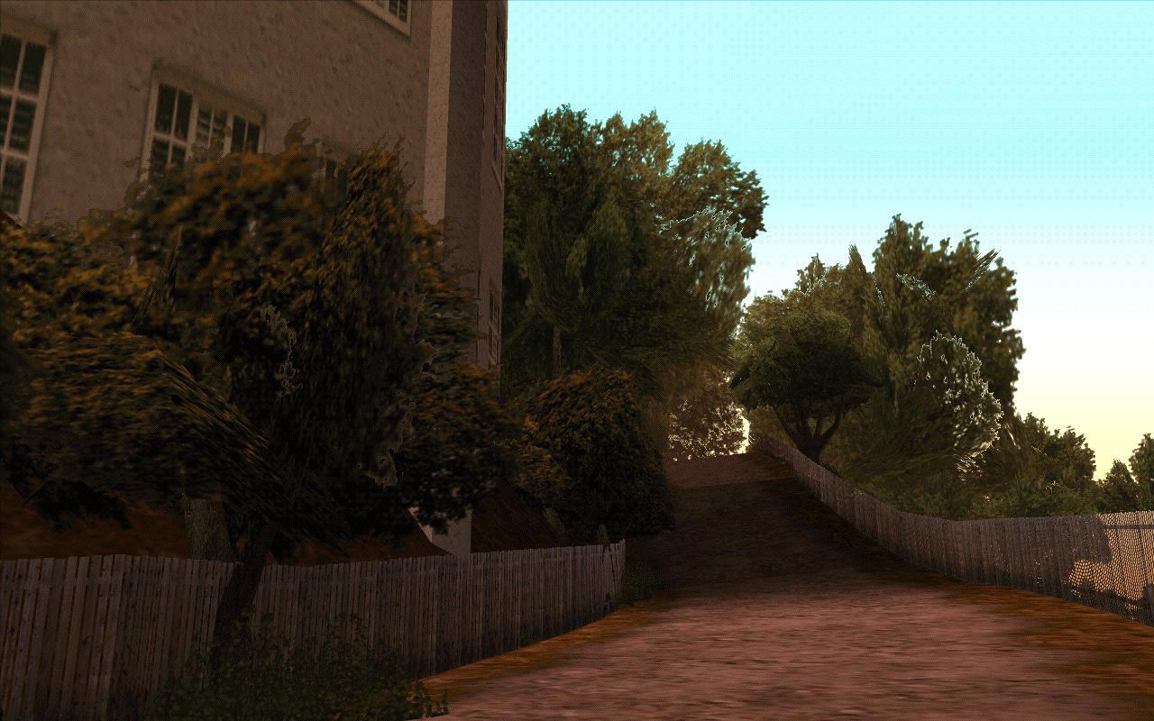 Тропинка рядом с обсерваторией. - Grand Theft Auto: San Andreas