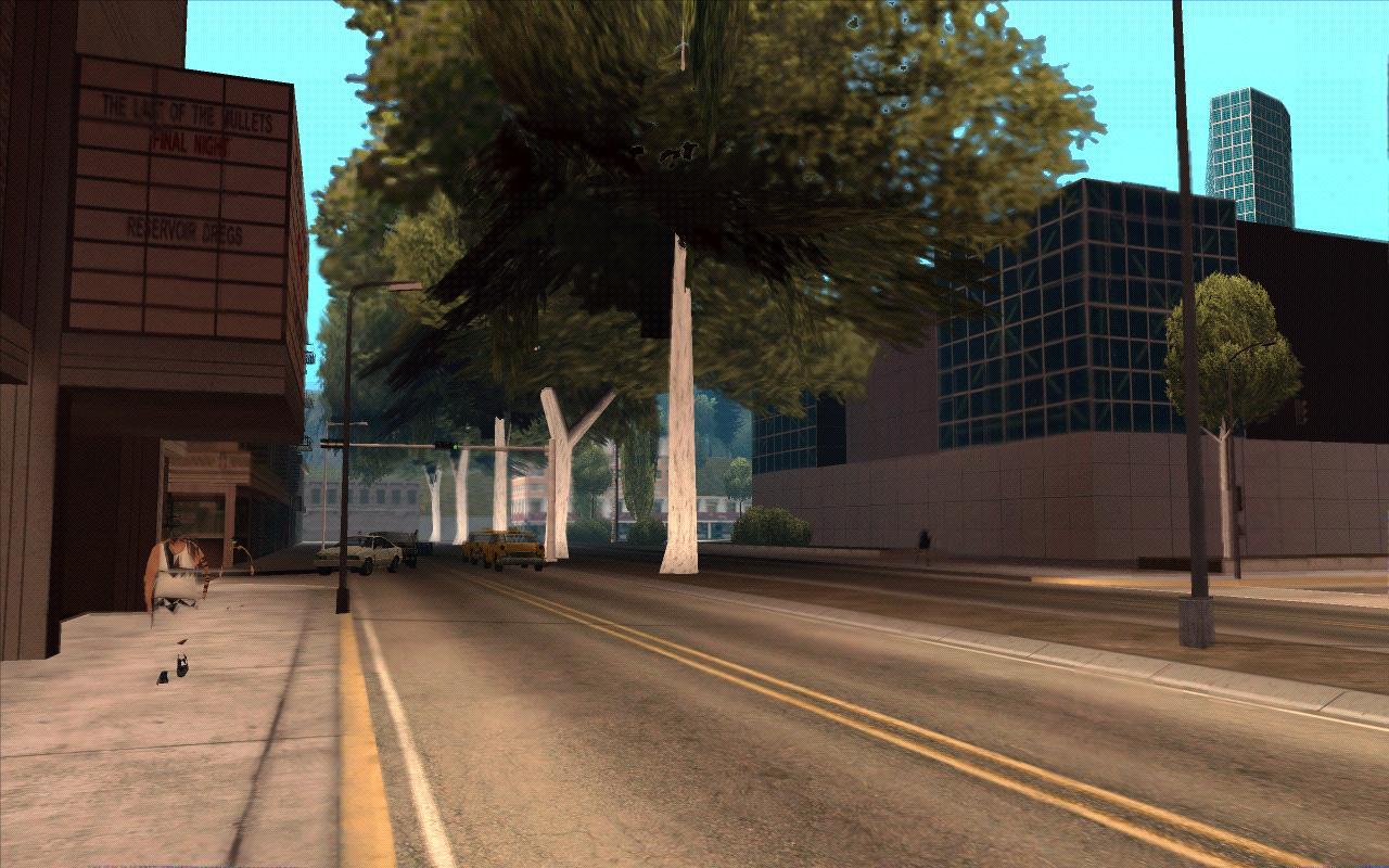 Тенистая улица Сантоса. - Grand Theft Auto: San Andreas