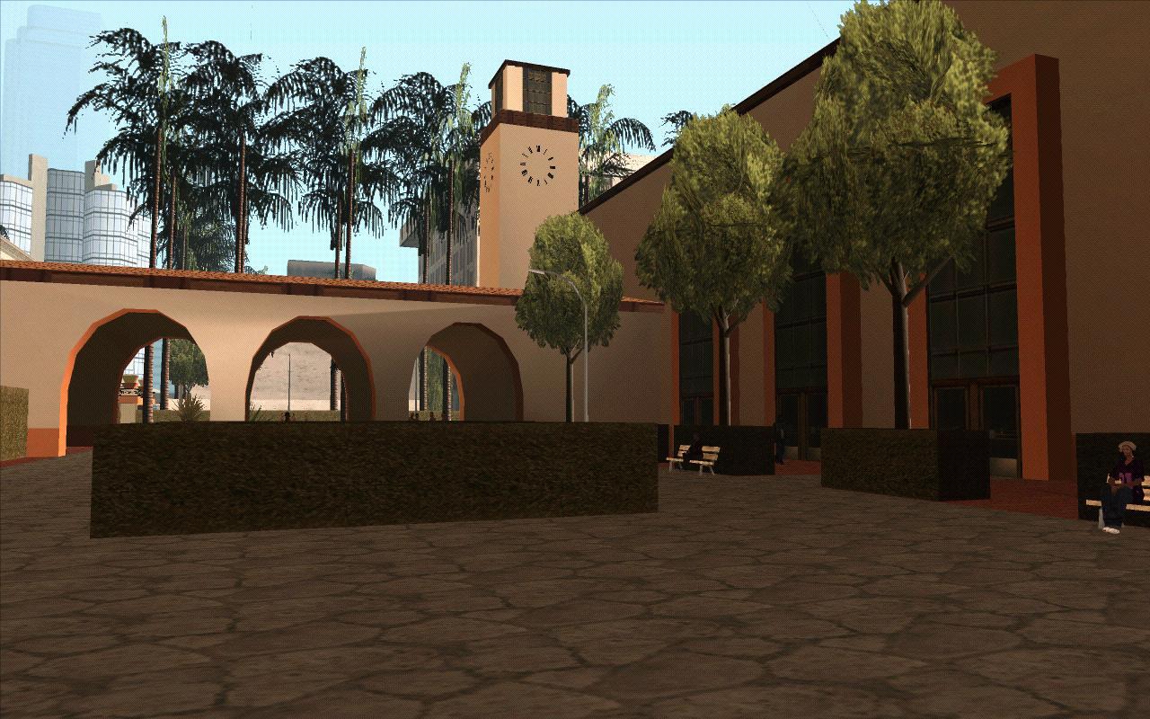 Дворик вокзала (ЛС) - Grand Theft Auto: San Andreas
