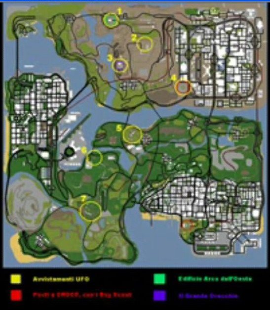Map2 - Grand Theft Auto: San Andreas