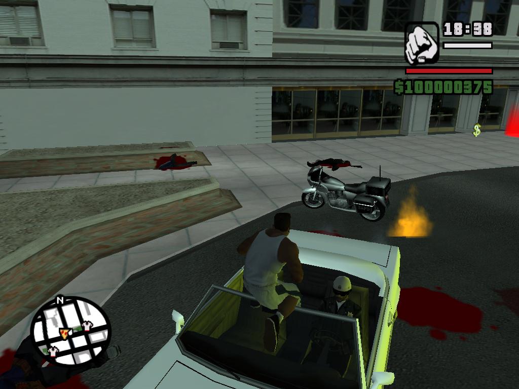 Коп на моем Фелтцере - Grand Theft Auto: San Andreas