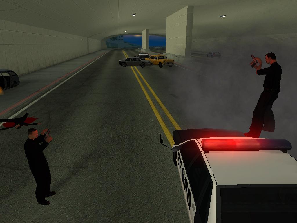 Подожди, я еще не перезарядил - Grand Theft Auto: San Andreas
