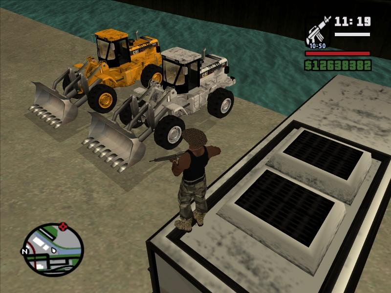 трактор - Grand Theft Auto: San Andreas