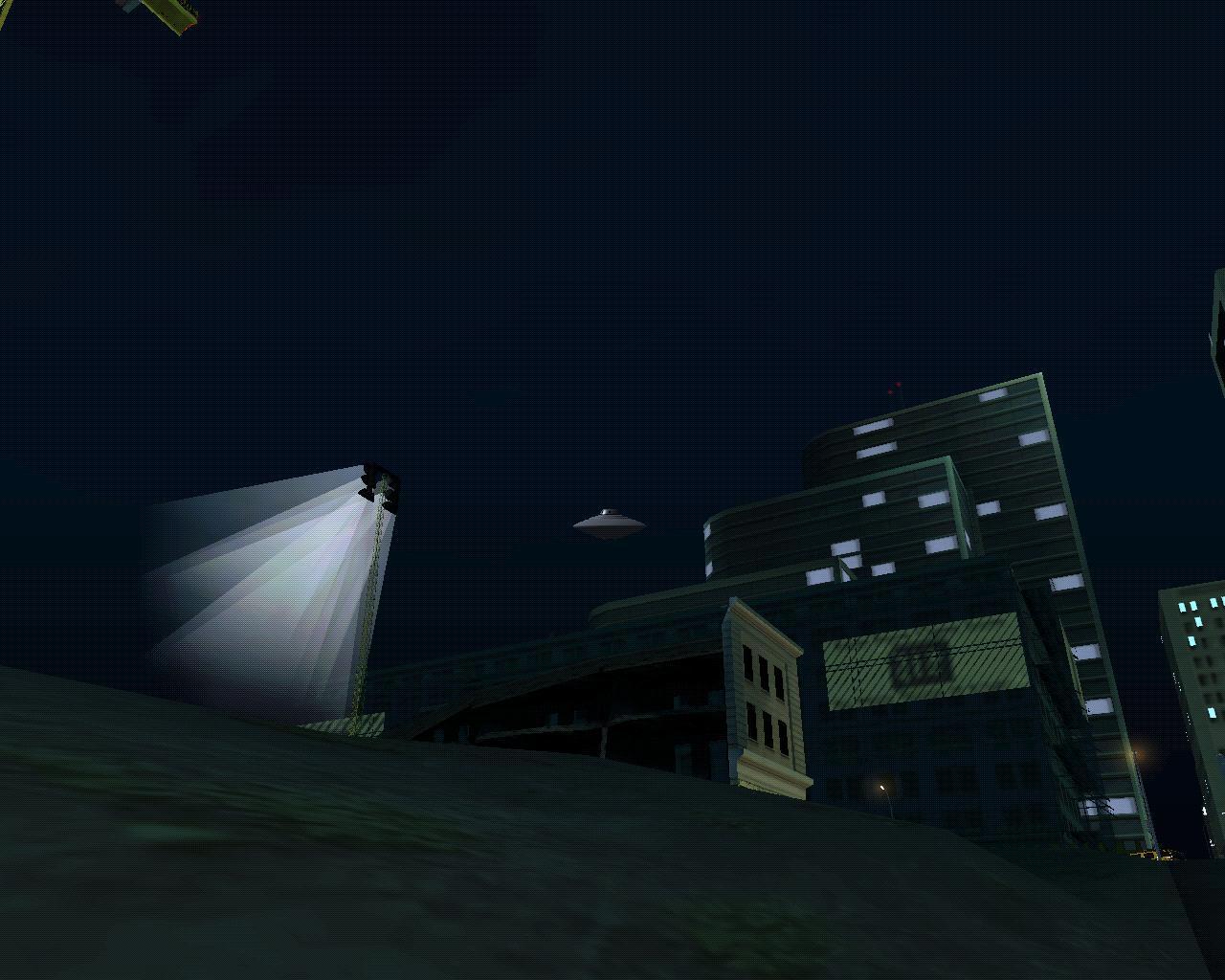 НЛО - Grand Theft Auto: San Andreas Просто авигеть!!!!!  Я после сутак игры увидел НЛО