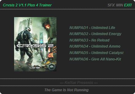 Скачать На Crysis 2 Трейнер - фото 3