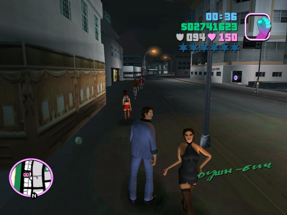 Девушка 2 - Grand Theft Auto: Vice City