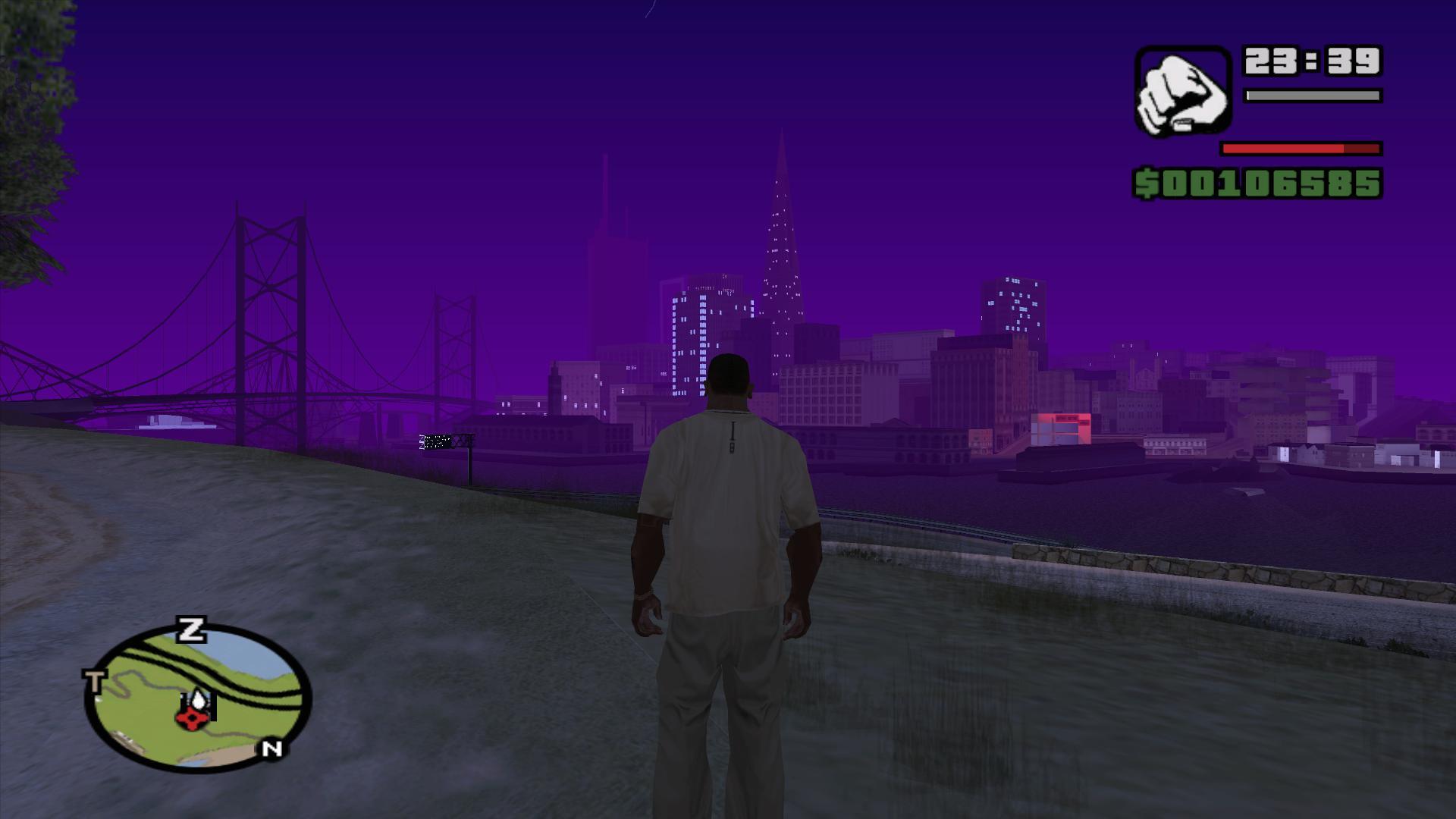 Романтик плэйс - Grand Theft Auto: San Andreas