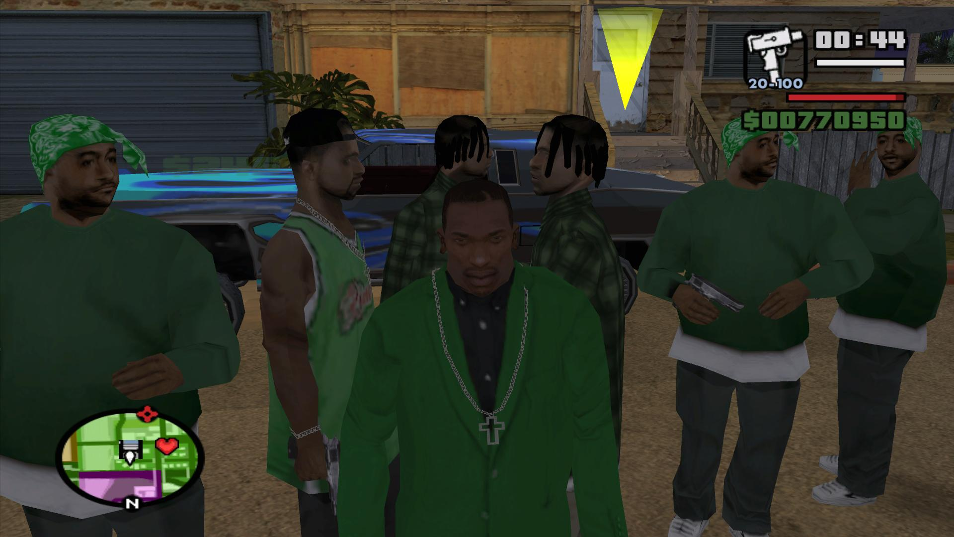 CJ3 - Grand Theft Auto: San Andreas