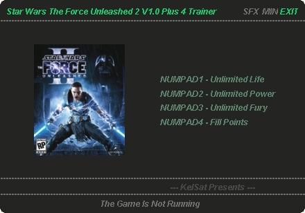 Star Wars The Force Unleashed 2 Скачать Трейнер