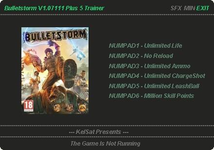 Скачать Трейнер На Игру Bulletstorm