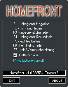 скачать трейнер для Homefront - фото 8