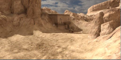 Песчанный каньон