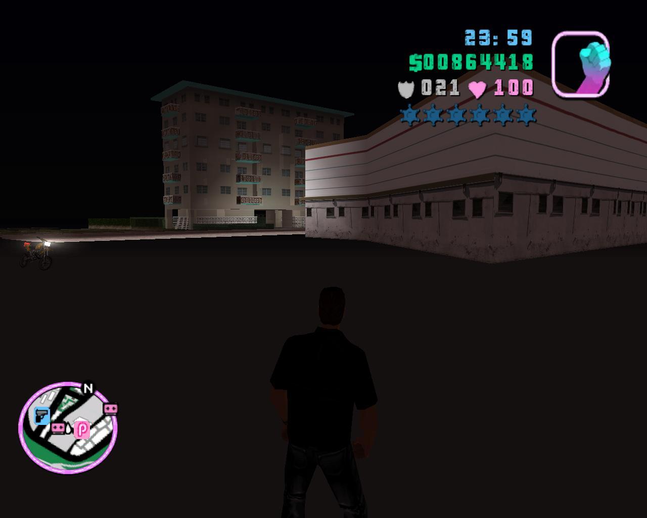 Глюк2 - Grand Theft Auto: Vice City Баг