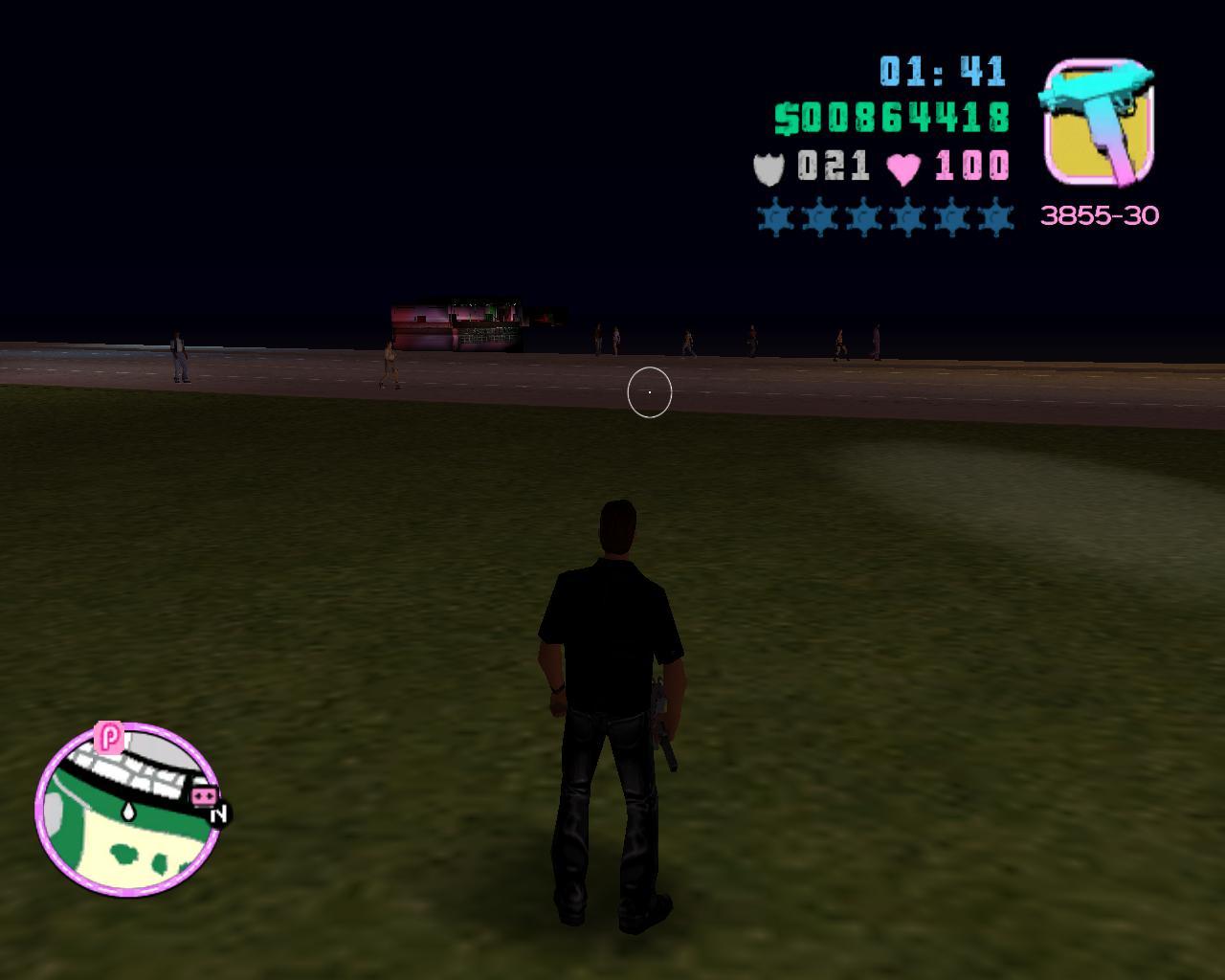Глюк3 - Grand Theft Auto: Vice City Баг