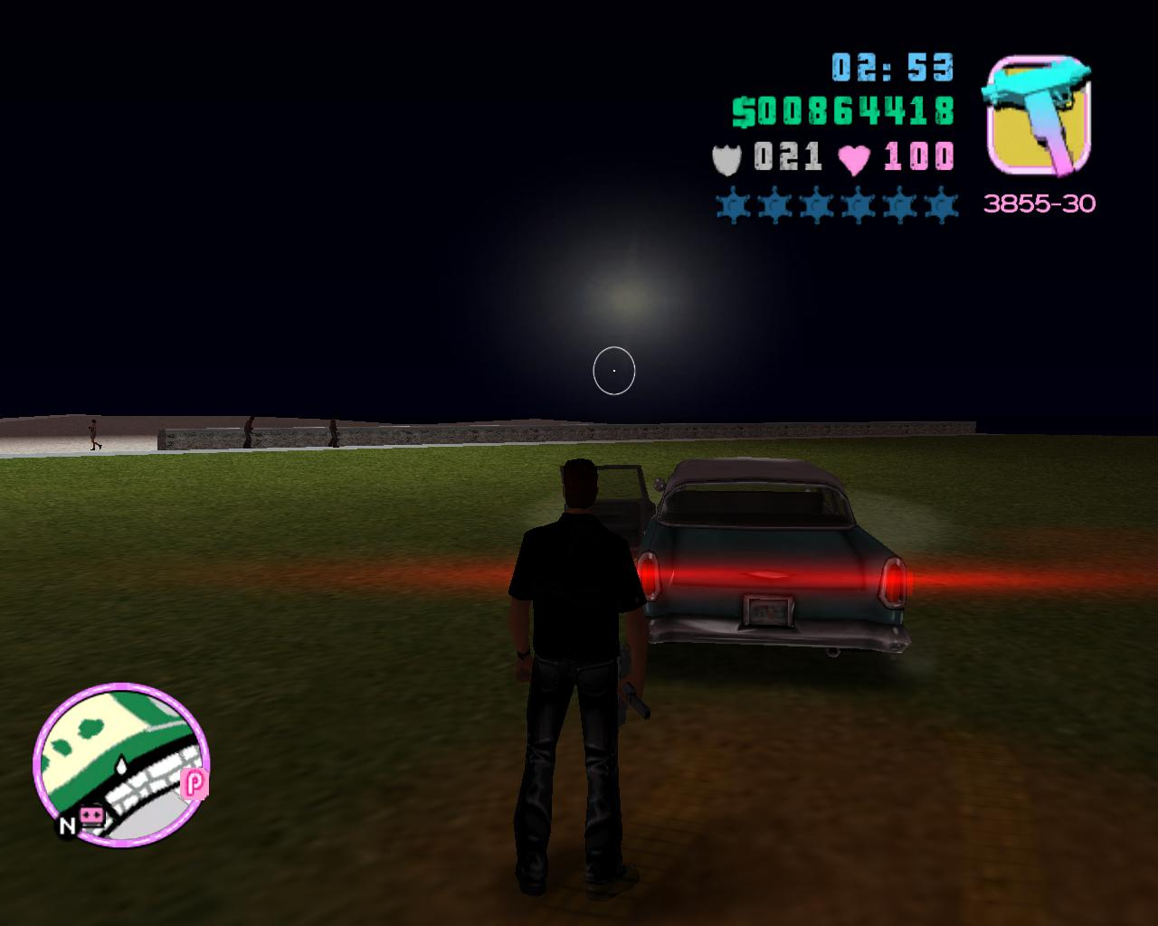 Глюк4 - Grand Theft Auto: Vice City Баг