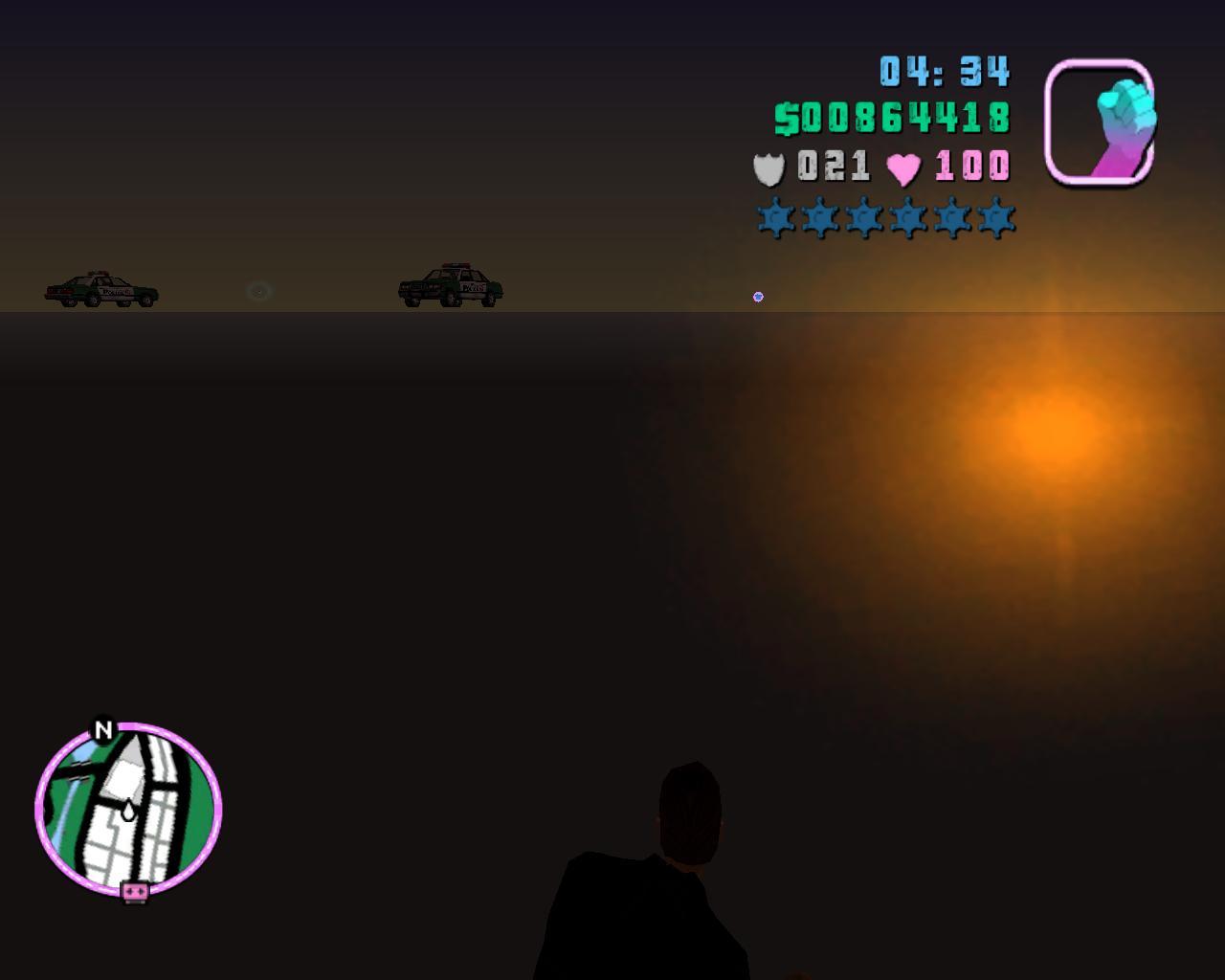 Глюк5 - Grand Theft Auto: Vice City Баг