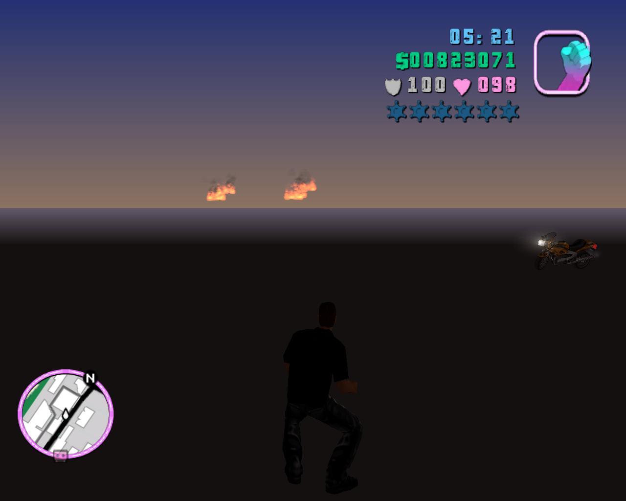 Глюк7 - Grand Theft Auto: Vice City Баг