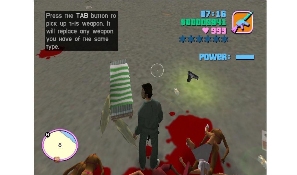 beach.jpg - Grand Theft Auto: Vice City пляж