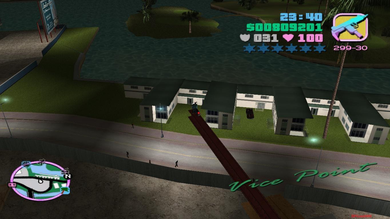 Взгляд с высоты - Grand Theft Auto: Vice City