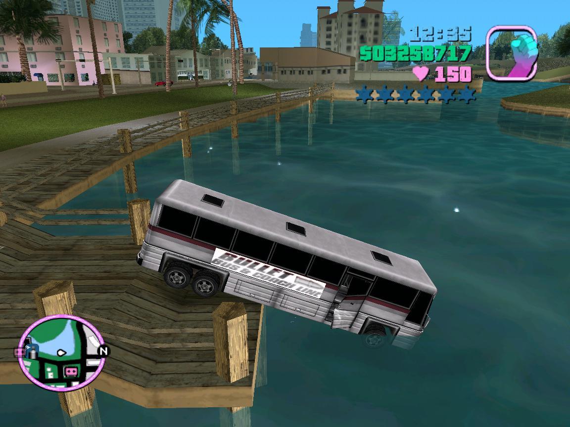 Поплаваем, пассажиры мои? - Grand Theft Auto: Vice City