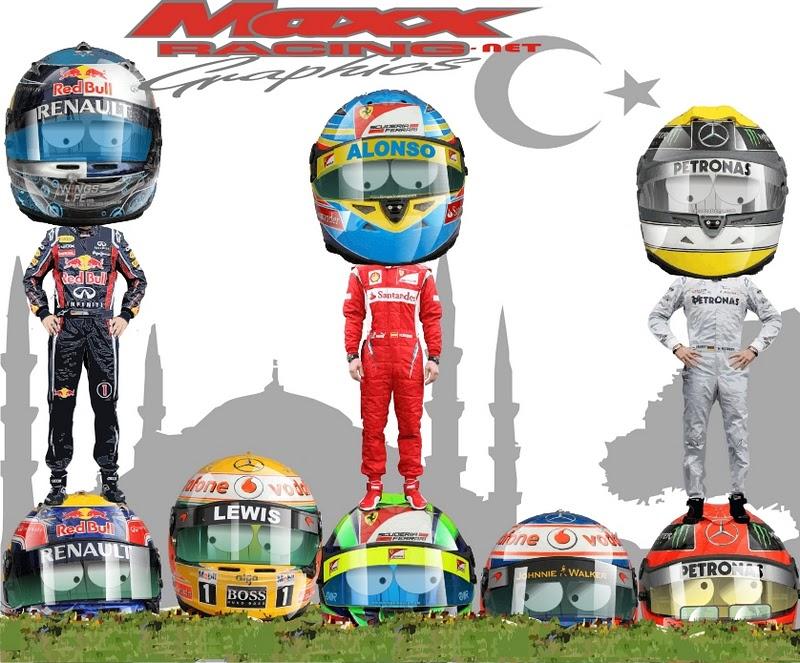 Ситуация на Гран-при Турции 2011. - -